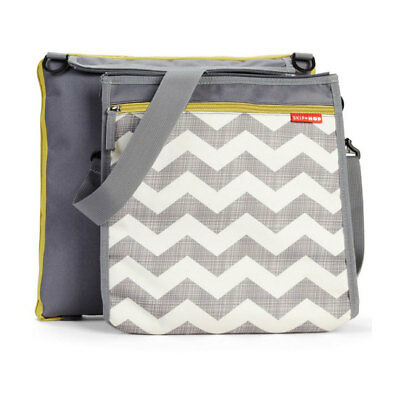 NEW Skip Hop Central Park Chevron Blanket & Cooler Bag