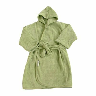 NEW Silly Billyz Organic Cotton Bath Robe - Sage