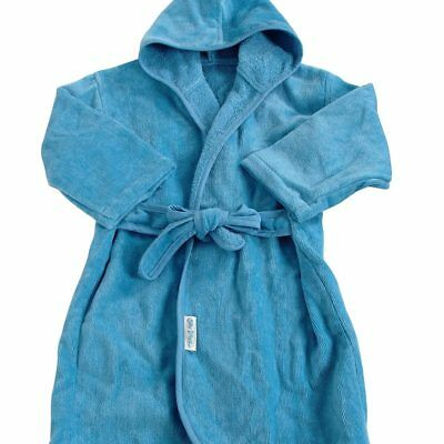 NEW Silly Billyz Organic Cotton Bath Robe - Marine