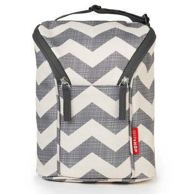 NEW Skip Hop Grab & Go Double Bottle Bag - Chevron