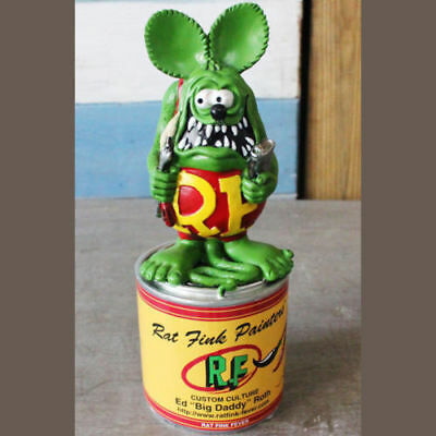 Vogue America Classic Cartoon Image Tales of the Rat Fink Resin Action Figure
