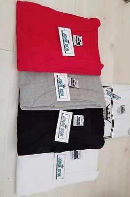 Lot of 3 John Son Super Heavy Weight Square Cut Tank Top 100% Cotton, Mix& Match