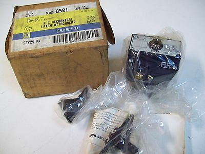 Square D 8501Xl Ac Mechanical Latch Attachment Relay 120-60 Ser. A 53729 - New