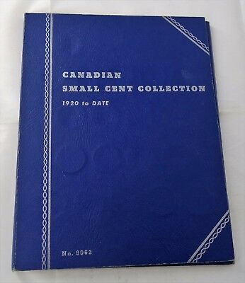 Partial Circulated Canadian Small Cent 1920 to 1956 23/42 - Whitman Album - A708