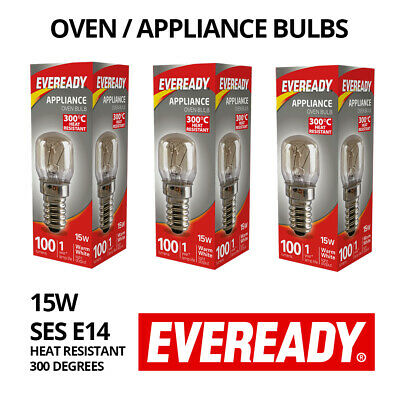 3 REPLACEMENT LIGHT BULBS | Himalayan Salt Lamp / Oven Fridge Appliance E14 15W