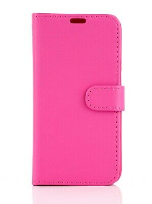 PU Leather Book Wallet Flip Stand Case Pouch For Wileyfox Spark Plus