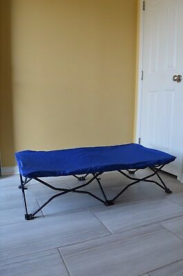 Regalo My Cot Portable Child Travel Bed In Royal Blue