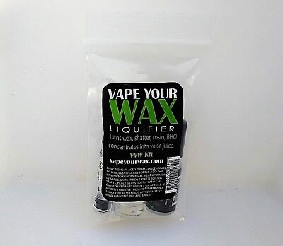Vape Your Wax Concentrates Liquidizer