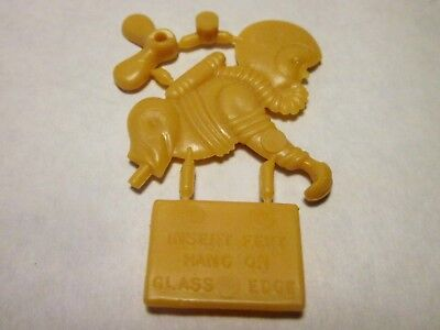 Vintage Cracker Jack plastic put together, astronaut drink helper, un-assembled.