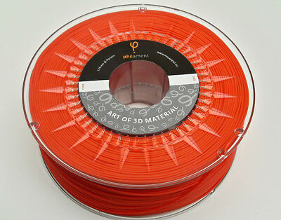 3D Printer Filament  ABS RED 1.75mm 10 m Sample HIGH Purity made by Philament™
