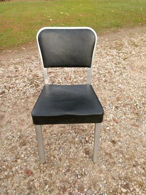 Vintage General Fireproofing Goodform Aluminum Navy Chair Mid Century  Industrial