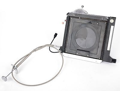 Sinar Copal DB Auto shutter + cable release with PC Sync cable (F5.6 scale)