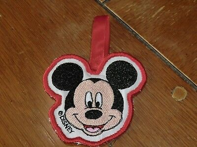 Embroidered Ornament - Christmas - Mickey Mouse