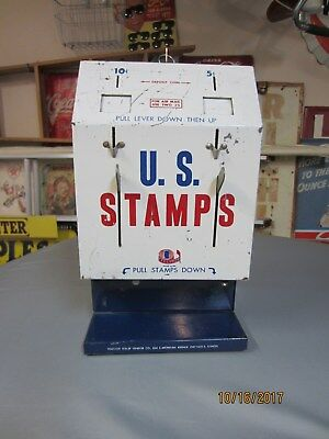 US Postage Stamp Vintage Vending Machine 5 and 10 Cent
