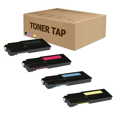 4 Pack, USA//Canada C605 Toner Tap Compatible for Xerox VersaLink C600