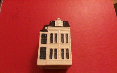 1 x Delft Blue Houses for KLM by BOLS Amsterdam  1575 no 91