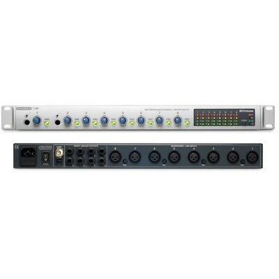 Presonus Digimax D8 * channel preamp with 24bit Optical/adat connections.