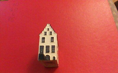 1 x Delft Blue Houses for KLM by BOLS Amsterdam  1575 no 2