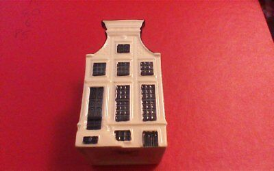1 x Delft Blue Houses for KLM by BOLS Amsterdam  1575 no 63