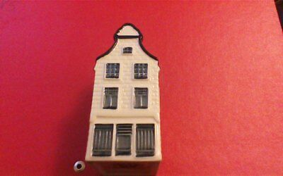 1 x Delft Blue Houses for KLM by BOLS Amsterdam  1575 no 30