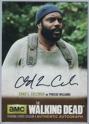 2016 The Walking Dead Season 4 Part 1 Au Chad L. Coleman As Tyreese Williams