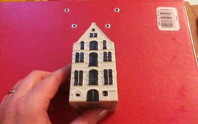 1 x Delft Blue Houses for KLM by BOLS Amsterdam  1575 no 37