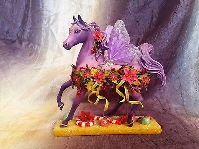 "Custom ""Dance of the Sugar Plum Ponies"" Trail of Painted Ponies Signed by Artist"