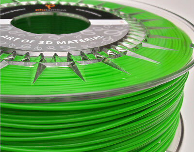3D Printer Filament  PLA GREEN 1.75mm 10m Sample HIGH Purity made by Philament™