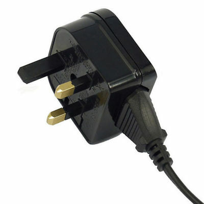European Euro EU 2 Pin to UK 3 Pin Plug Adapter Power Socket Travel Converter