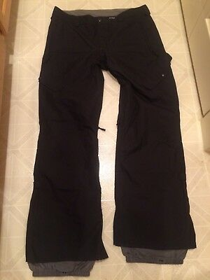Burton Dryride The White Collection Men's Size XL Xtra Large Snowboard Pants