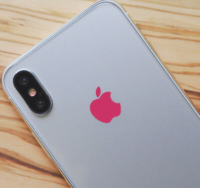 Pink Color Changer Overlay for Apple iPhone X Logo Vinyl Decal
