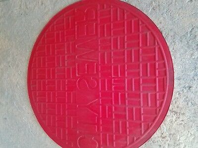 concrete stamps city sewer medallion   36''x36''  3 foot