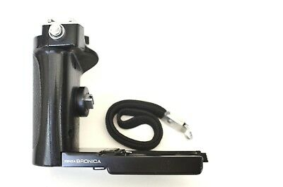 Bronica speed grip winder-E for ETR/S/I with Bronica speed winder strap