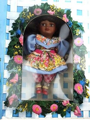 Marie Osmond Fine Porcelain Mother's Day Greeting Card Doll LimitedMarie1996 NOB