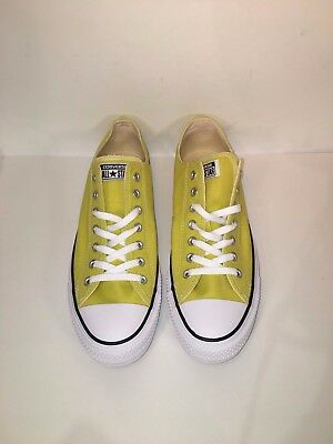 NEW WITH BOX Converse Chuck Taylor All Star OX Bitter Lemon