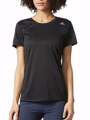 NEW Adidas Black Women's Climalite® Short Sleeve Nova Active SS Tee Shirt NWT