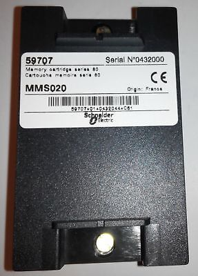 Schneider Electric 59707 MMS020 Memory Cartridge For Sepam Series 80