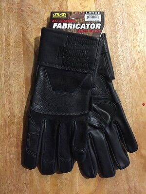 MECHANIX WEAR Large L Black FABRICATOR Tactical Welding Gloves New! MFG-05-010