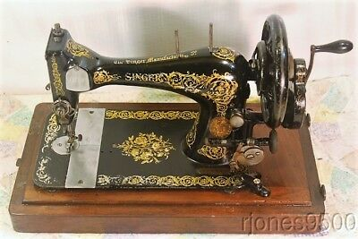 *1894*singer Hand Crank Sewing Machine*model 28*