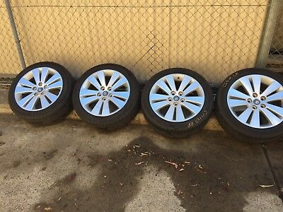 Holden Commodore Wheels And Tyres 245/45/18