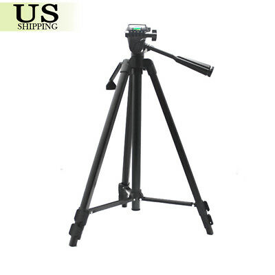 Professional Aluminum 360°Tripod Stand Holder Mount for Canon Nikon DSLR Camera