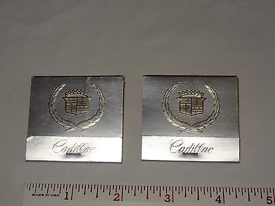 Lot 2 Matchbook Cover Matches Cadillac Motor Car Division Portland Zone Silver