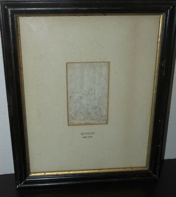 Original Ink on Vellum Drawing by Jean-Érasmus Quellin (1634-1715) Elliot Offner
