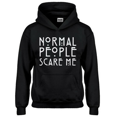 Youth Normal People Scare Me Kids Hoodie #3085