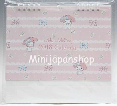 new sanrio my melody 2018 calendar japan us seller