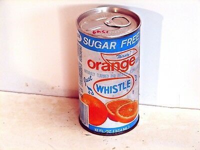 Sugar Free Orange Whistle; Vess Limited; St. Louis County	MO; steel soda pop can