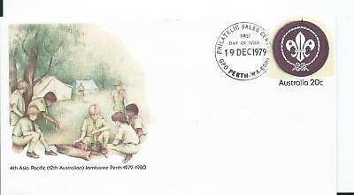 1979 FDC 4th ASIA PACIFIC JAMBOREE PERTH PSE