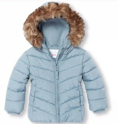 Childrens Place Baby Girl Hooded Coat & Jacket ~ Size 18-24 Months