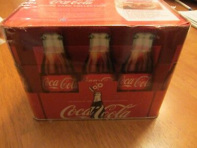 NEW-Coca-Cola Recipe Card Collection-Tin Box with 78 Recipes and Blank Cards