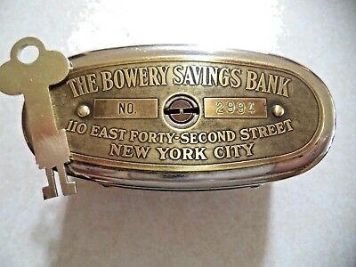 "Automatic Recording ""wealthometer"" Bowery Savings Bank New York City # 2994"